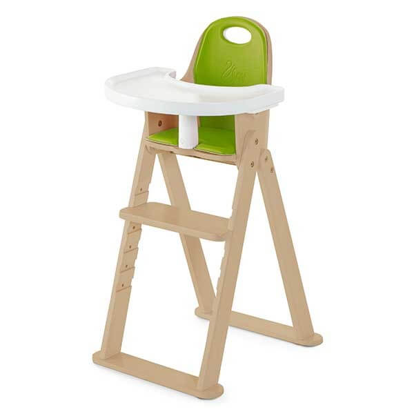 Delightful Baby To Booster Bentwood Folding Chair