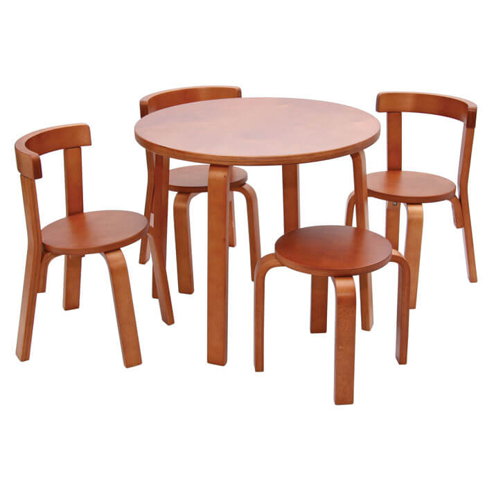 Svan Play With Me Table and Chairs in Cherry. Play with me Toddler Table and Chair Set   SVAN