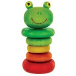 Frog Clacker Rattle Wooden Toy