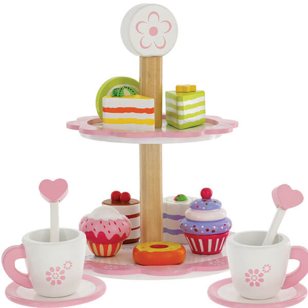 Dessert Tower Wooden Play Set 15piece