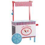 SVAN Ice Cream Cart Wooden Toy Set