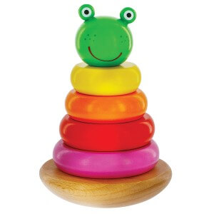 Magnetic Woden Frog Stacker
