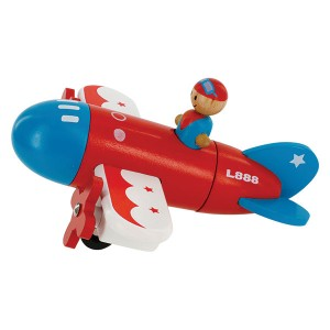 SVAN Take Apart Magnetic Airplane Wooden Toy Set