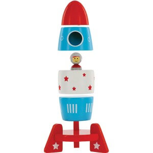 SVAN Rocket Magnetic Wooden Stacker