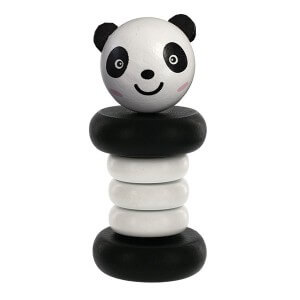 Panda Wooden Clacker Ratlle