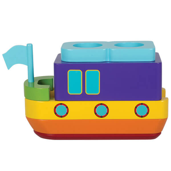 SS Ahoy Surprise Stacker Wooden Toy