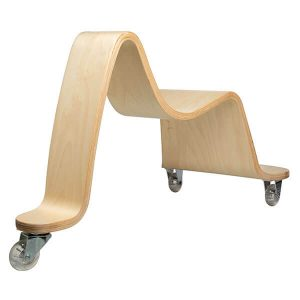 Wooden Wave Scooter from Svan