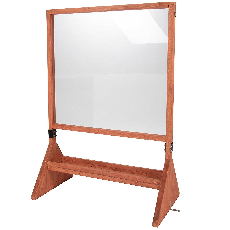 Double Sided Indoor Outdoor Plexiglass Art Easel Svan